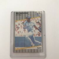 1989 FLEER BO JACKSON KANSAS CITY ROYALS