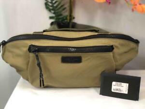 NWT RAG & BONE Men's Fleet Olive Green Nylon Large Fanny Pack/ Waist Belt Bag