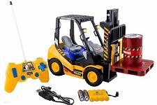 6-Channel Electric Remote Control Forklift - Functional RC Lighted Fork lift Toy