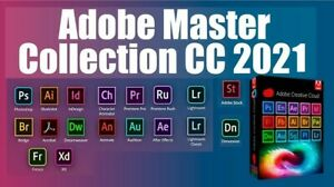 Adobe Master Collection CC 2021 (Everything You Receive In Description)