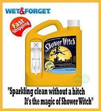 WET AND FORGET SHOWER WITCH BATH BATHROOM TOILET CLEANER 2L CURTAIN WATERPROOF