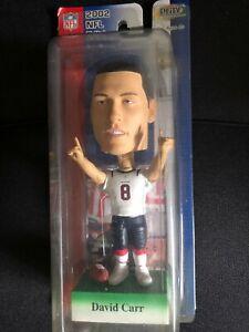 NFL 2002 BOBBLEHEAD, Houston Texans, David Carr, NEW (Away)