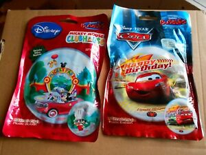 "Qualatex 22"" Disney Mickey Mouse Clubhouse Bubbles ballon + CARS pixar"