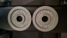"Two 10lb CAP Olympic 2"" weight Plates"