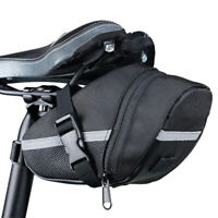 EE_ Outdoor Road Bike Saddle Bag MTB Seatpost Bag Waterproof Saddle Bag Black