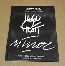 HUGO PRATT / MUÑOZ - CATALOGUE - ARTCURIAL - 21 NOVEMBRE 2009 ( BE+/TBE )