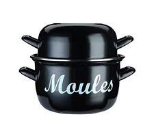 Kitchen Craft Marmite À Moules Émaillée en Acier 12 cm