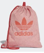 Adidas Originals Clásico Trébol Bolsa de deporte Trace escarlata