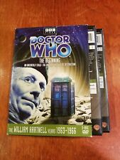 Doctor Who The Beginning Dvd 3-disc box set William Hartnell