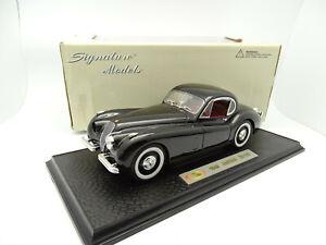 Signature Models 1/18 - Jaguar XK120 Coupé Noire