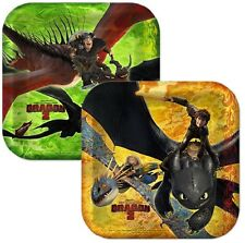 How to Train Your Dragon ~ (8) Dessert Plates ~ Birthday Party Supplies