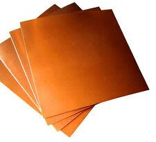 Copper Sheet SHIM - 300mm x 214mm x 0.1mm THICK  A4 SIZE ART CRAFT FREE POST