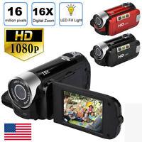 24MP 1080P HD Camcorder Digital Video 16x Zoom DV AV Night Vision LCD Camera Hot