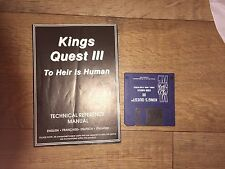 Kings Quest 3 To Heir Is human Amiga