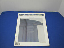 Taunton's Fine Homebuilding June/July 1987 Flagstone Walks, Kitchen Remodel