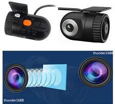 Car Dash Cam DVR Video Recorder HD Camera G-Sensor Camcorder with Microphone 12V