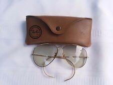 Vintage Ray Ban Aviator Sun Glasses Photochromic Original Marked B&L 62  12 USA
