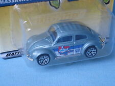 MATCHBOX 1962 Volkswagon VW Beetle azzurro in America MASSA 70mm