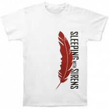 SLEEPING WITH SIRENS - Feather White:T-shirt - NEW - LARGE ONLY