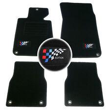 E30 extra noir+clip jusqu/'au 11//93 4 Tapis en vel BMW Serie 3