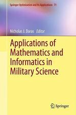 Applications of Mathematics and Informatics in Military Science 71 (2012,...