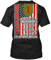 1st Infantry Division The Big Red One - 1 No Mission Hanes Tagless Tee T-Shirt