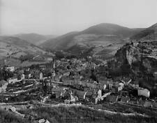 OLD PHOTO FRANCE Meyrueis Panorama And Jonte Valley About 1900