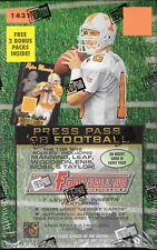PRESS PASS 1998 FOOTBALL CARDS BOX FACTORY SEALED
