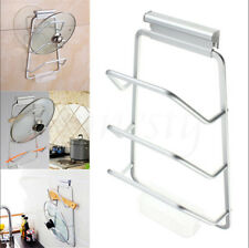 Lid Rack Door Kitchen Storage Cabinet Cover Holder Organizer Pantry Cupboard Pot