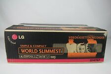 LG lv4787 6-TESTA VIDEO RECORDER VIDEOREGISTRATORE VHS (NUOVO/NEW)