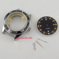 41mm sapphire glass no logo Watch Case + dial + hand fit ETA 2824 2836 MOVEMENT