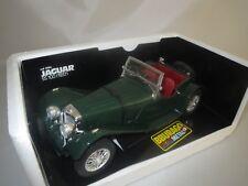 """Bburago  Jaguar  SS  100  """"1937""""  Rarität geschlossene Radmuttern  1:18  OVP !"""