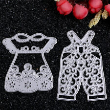 Cutting Dies Metal Colthes Stencil Scrapbooking Album Paper Card Embossing Craft