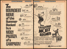 THE UNSINKABLE MOLLY BROWN__Original 1964 Trade AD promo_poster__DEBBIE REYNOLDS