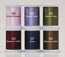 KIMONO SILK THREAD- HAPPY TRAILS SET, 6 Spools 100wt Silk From Superior Thread