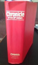 Chronicle of the 20th Century (1987, Hardcover) 87 Years of News No Dust Cover