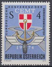 Österreich Austria 1974 ** Mi.1457 Verkehrssymbole Traffic signs