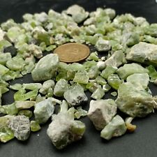 178 gr Natural Gemmy Green Peridot Crystals Lot From Afghanistan