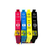 20 Epson 220XL 220XL 220 HY Generic Ink w Chip for Workforce WF- 2630 WF- 2650