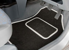 TOYOTA AYGO (2012 TO 2014) TAILORED CAR MATS WITH WHITE TRIM [2625]