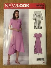 NEW LOOK Sewing Pattern R10534 Dreses -Misses 7 Sizes in 1: US 6-18