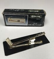 Vintage Golf Club Spaulding Executive Sporty Memo Clip, Paperweight Office Desk