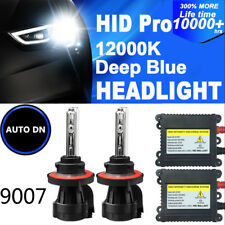 2x DBK HID headlight Kit 9007 HB5 Hi/Low Beams 12000K Replace bulbs Bi-Xenon