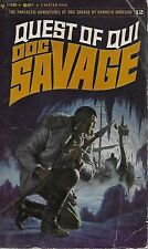 DOC SAVAGE #12: QUEST OF QUI  by Kenneth Robeson - 1stPaperback PrintingEPT