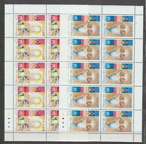 s37830 VATICANO MNH** 2004 Congr. Eucaristico Guadalajara MSx2