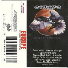 Europe - Wings of Tomorrow (Cassette 1984 Epic)