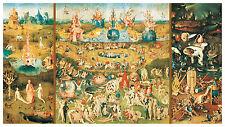 PUZZLE 9000 PIEZAS pieces JARDIN DE LAS DELICIAS GARDEN OF DELIGHTS EDUCA 14831