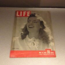 OLD LIFE MAGAZINE - MAY 24TH, 1943- PEGGY LLOYD