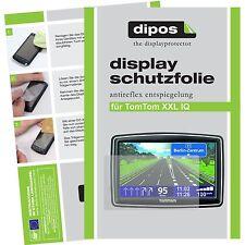 3x TomTom XXL IQ Schutzfolie matt Displayschutzfolie Folie dipos Displayfolie