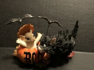 Charming Tails #85/124 Don't Be a Scaredy Cat Have Fun - New In Box